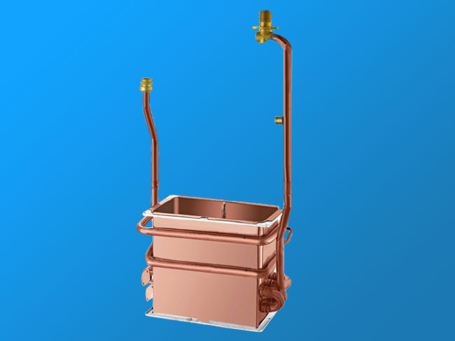 W12L-A anaerobic copper heat exchanger